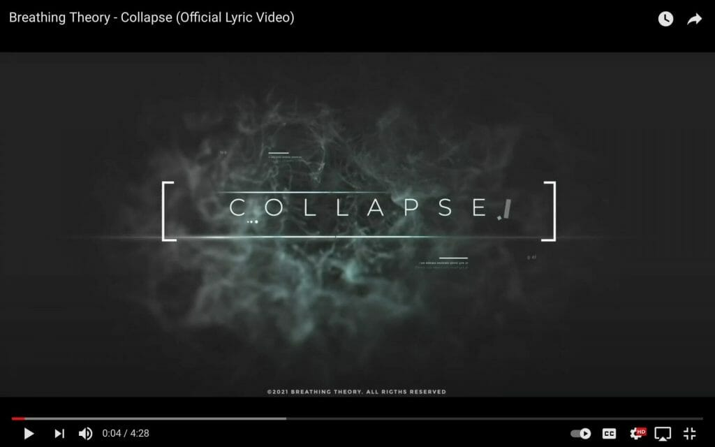 Breathing Theory – 'Collapse'